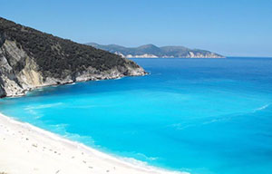 пляж Митрос Греція фото